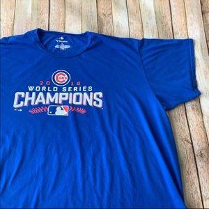 Chicago Cubs World Series tee shirt